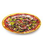 "GET DP-909-PZ 9""Pizza Plate, Melamine, Dishwasher Safe"
