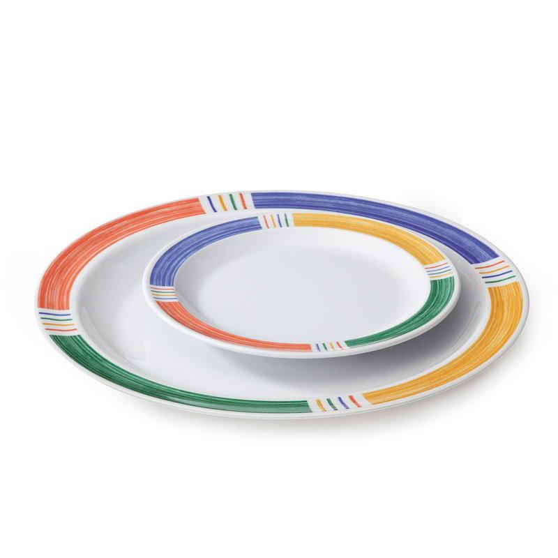 "GET DP-910-BA Barcelona II Dinner Plate, 10""Diameter, Melamine"