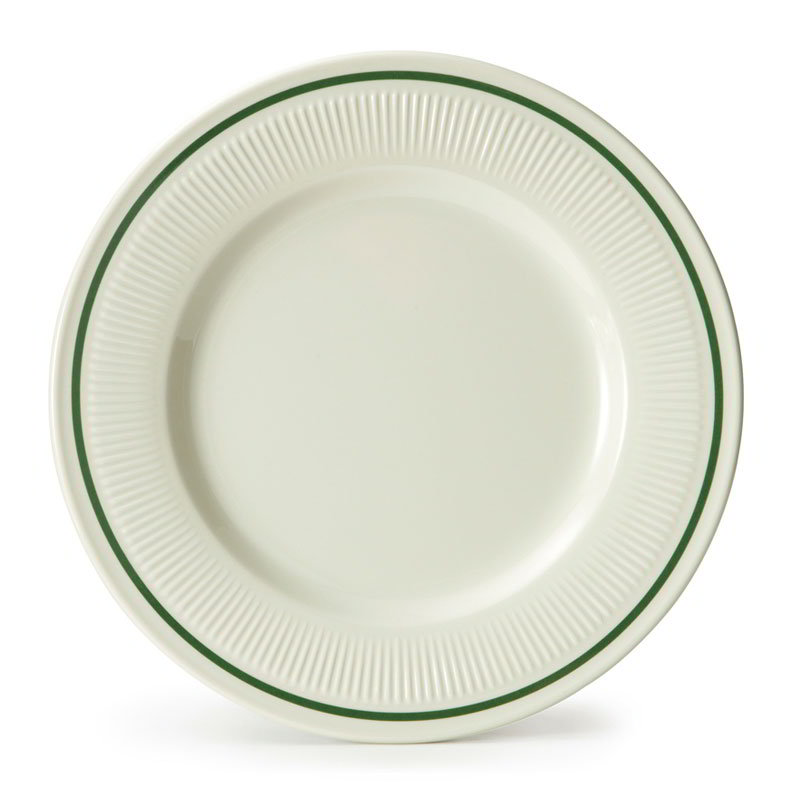 "GET E-6-K 6-3/8""Bread/Dessert Plastic Plate, Monarch Kingston"