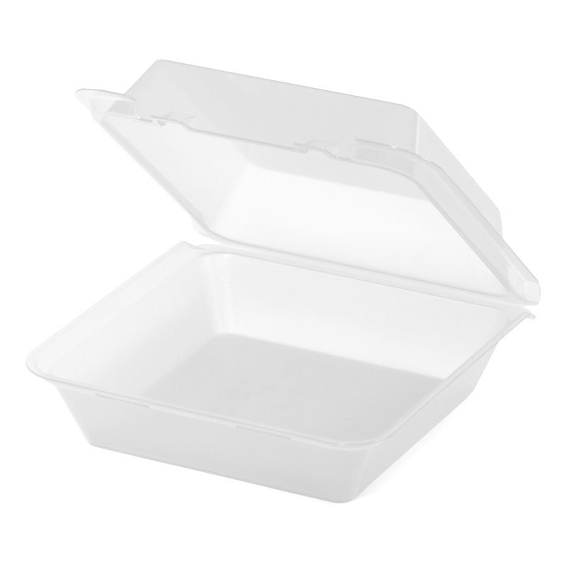 GET EC-02-1-CL Eco Takeouts Food Container w/ 1-Compartment, Clear Polypropylene