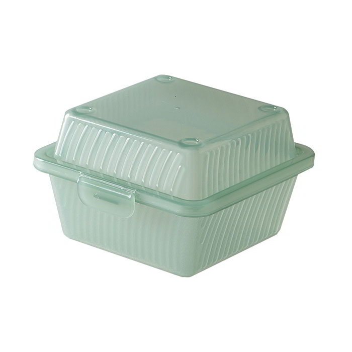 "GET EC-08-1-JA Eco Takeouts Food Container w/ 1-Compartment, 3.25"" Deep, Jade"