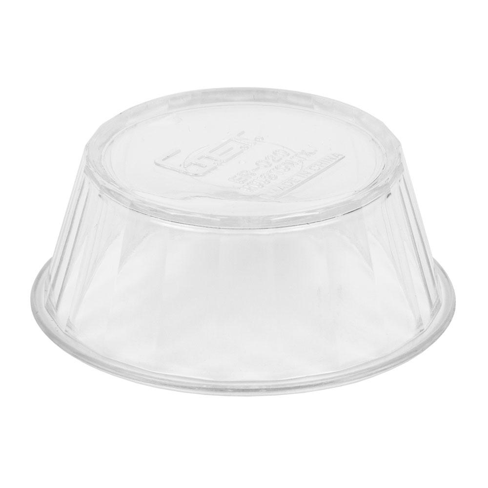 "GET ER-020-CL 2.75"" Round Ramekin w/ 2-oz Capacity, Plastic, Clear"