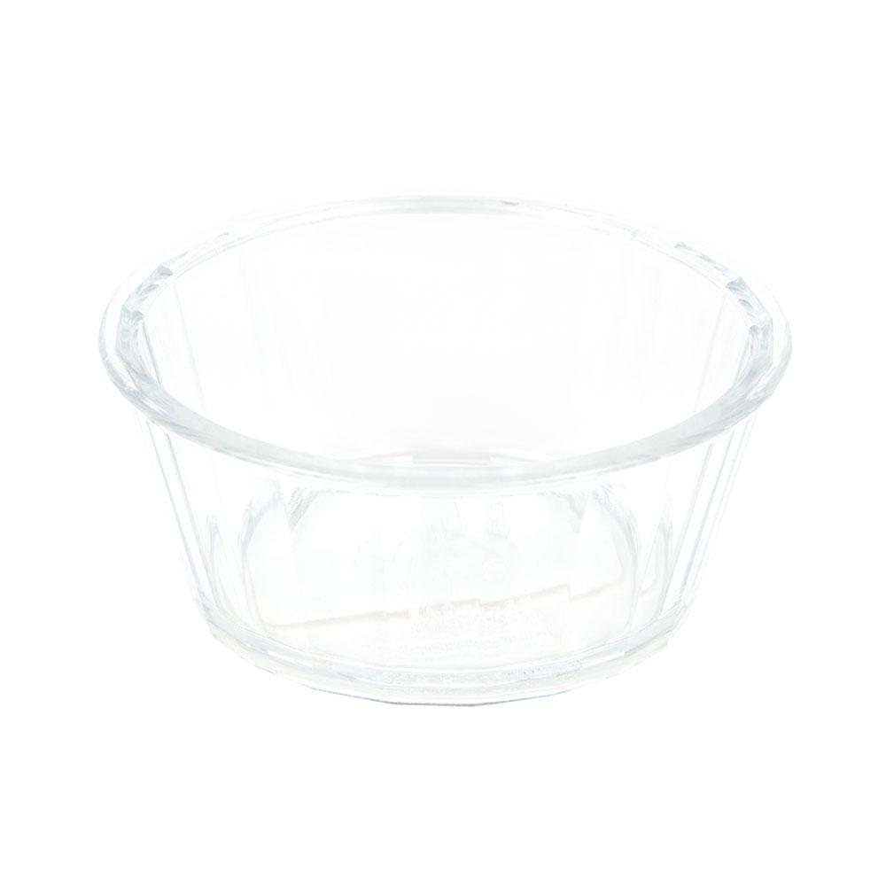 GET ER-045-CL 4-oz Ramekin, Fluted, Melamine, Clear Plastic