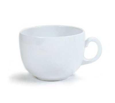 GET C-1001-W 18-oz Break Resistant Melamine Mug, White