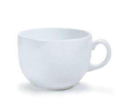 GET C-1002-W 24-oz Break Resistant Melamine Mug, White