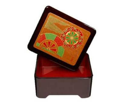 "Get 230-2-F Fuji Don Jyu Box w/ Cover, 6.5 x 5.5 x 3"" High"