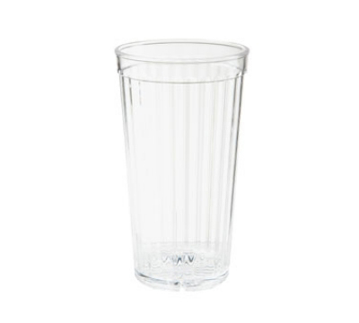 GET 8823-CL 22-oz Spectrum Textured Tumbler, Clear Polycarbonate