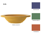 "GET B-86-CA 8-oz Diamond Cambridge Melamine Bowl, 6"" Diameter x 1.5"" Deep"