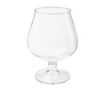 GET BRA-2-PC-CL 16-oz Brandy Glass, Clear Polycarbonate