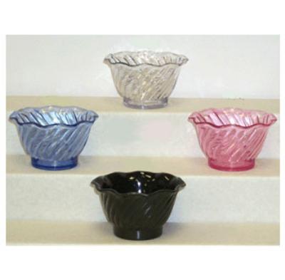 "GET DD-60-PI 4.5"" Dessert Plastic Dish w/ 6-oz Capacity, Pink SAN"