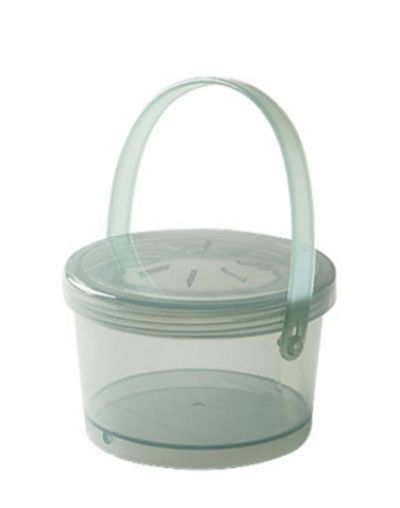 Get EC-07-1-JA 12-oz Eco Takeouts Soup Container w/ Lid & Handle, Jade
