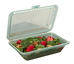 GET EC-11-1-JA Eco Takeouts Half Size Food Container w/ 1-Compartment, Jade