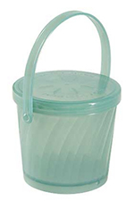 Get EC-13-1-JA 16-oz Eco Takeouts Soup Container w/ Lid & Handle, Jade