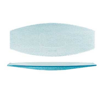 "GET HI-2032-JA Oval Cache Platter, 22.5 x 9"" Wide, Jade Polycarbonate"