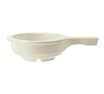 "GET HSB-112-IV 5.25"" Soup Bowl w/ Handle & 12-oz Capacity, Ivory Melamine"