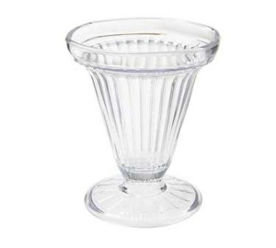 Get ICM-25-CL 6-oz Dessert Time Ice Cream Cup, Clear Plastic