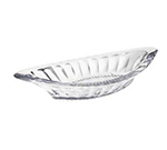 GET ICM-27-CL 8-oz Dessert Time Banana Split Dish, Clear Plastic