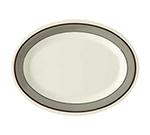 GET OP-950-CA Oval Diamond Cambridge Melamine Platter, 9.75 x 7.25