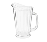 """Get P-1064-CL 60-oz Beer Pitcher, 9"""" Tall, Clear Plastic"""