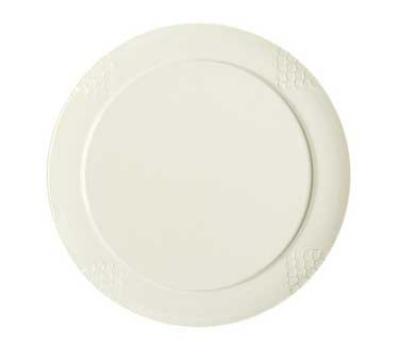 "Get RP-20-IV 20"" Sonoma Plate, Melamine, Ivory"