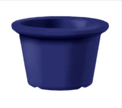 """Get S-610-CB 1.5-oz Plain Cone Shaped Ramekin, 2.25"""" Diam, Cobalt Blue Melamine"""