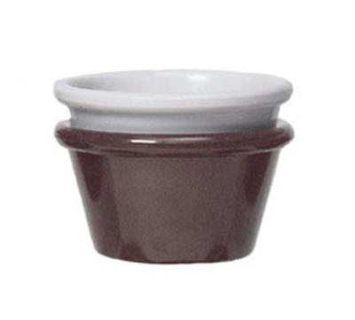 "GET S-630-IV 3-oz Plain Cone Shaped Ramekin, 3"" Diameter, Ivory Melamine"