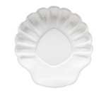 "GET SH-5-W 5"" Break Resistant Shell Plastic Plate, White"