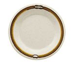 "GET WP-5-RD 5.5"" Diamond Rodeo Melamine Plate w/ Wide Rim"
