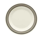 "GET WP-9-CA 9"" Diamond Cambridge Melamine Plate w/ Wide Rim"
