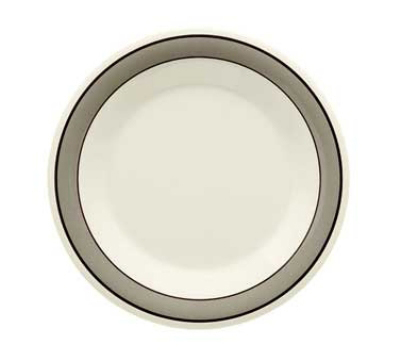 "GET WP-10-CA 10.5"" Diamond Cambridge Melamine Plate w/ Wide Rim"