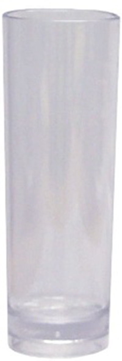 GET H-14-CL 14 oz Tom Collins, SAN Plastic, Clear