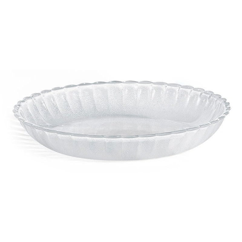 "GET HI-2002-CL 8-1/4""Deep Soup/Salad Plate, Clear Plastic"