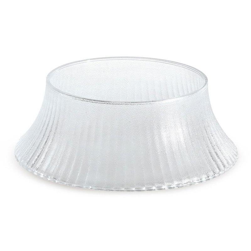 GET HI-2007-CL Pedestal, Polycarbonate, Clear Plastic