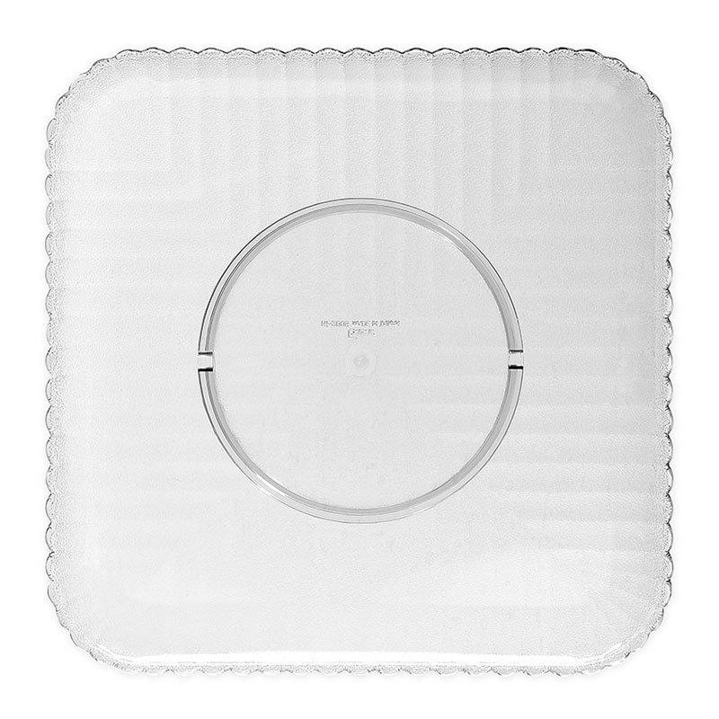 """GET HI-2009-CL 12""""x 12""""Plate, Polycarbonate, Clear Plastic"""