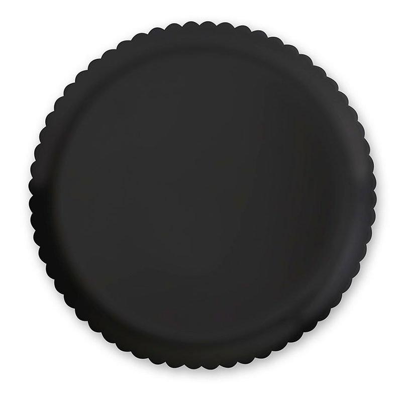 """GET HI-2010-BK 13""""Plate, Polycarbonate, Black"""