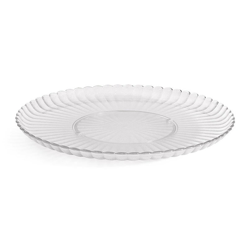 """GET HI-2010-CL 13""""Plate, Polycarbonate, Clear Plastic"""