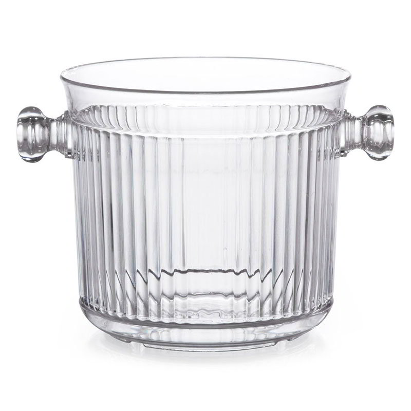 GET HI-2015-CL 2.5 Qt. Ice Bucket, Polycarbonate, Clear Plastic
