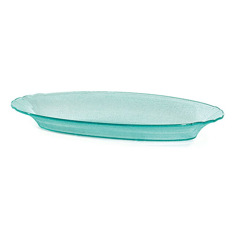 "GET HI-2035-JA Oval Cache Plastic Bowl w/ 3-qt Capacity, 21 x 10.5 x 2.5"" Deep, Jade"