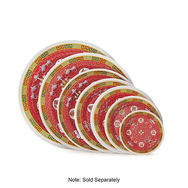 """GET KT-415-L 12""""Dinner Plate, Melamine, Dynasty Longevity"""
