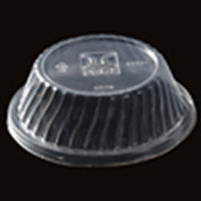 G.E.T LID-55701 Disposable Lid For 13 oz Dessert Dish Clear Restaurant Supply