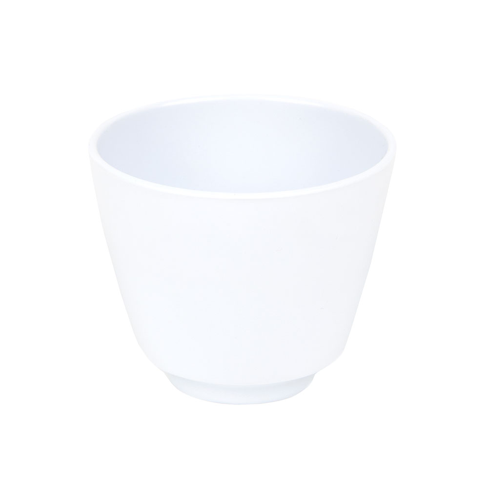 GET M-077-CW Teacup, 5-1/2-oz, Melamine, White