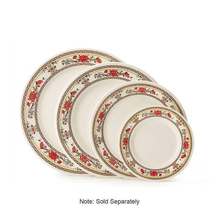 "GET M-5080-CG 9-1/2""Dinner Plate, Melamine, Dynasty Garden"