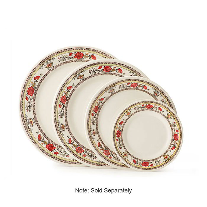 "GET M-5090-CG 10""Dinner Plate, Melamine, Dynasty Garden"