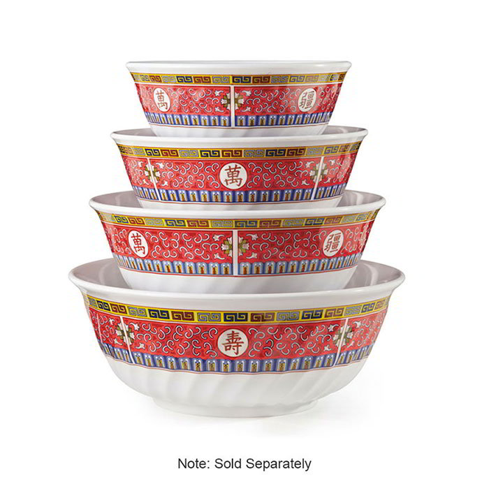 GET M-608-L 48-oz Bowl, Melamine, Dynasty Longevity