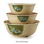GET M-608-TD Traditional Melamine Bowl w/ Fluted Edges & 1.5-qt Capacity