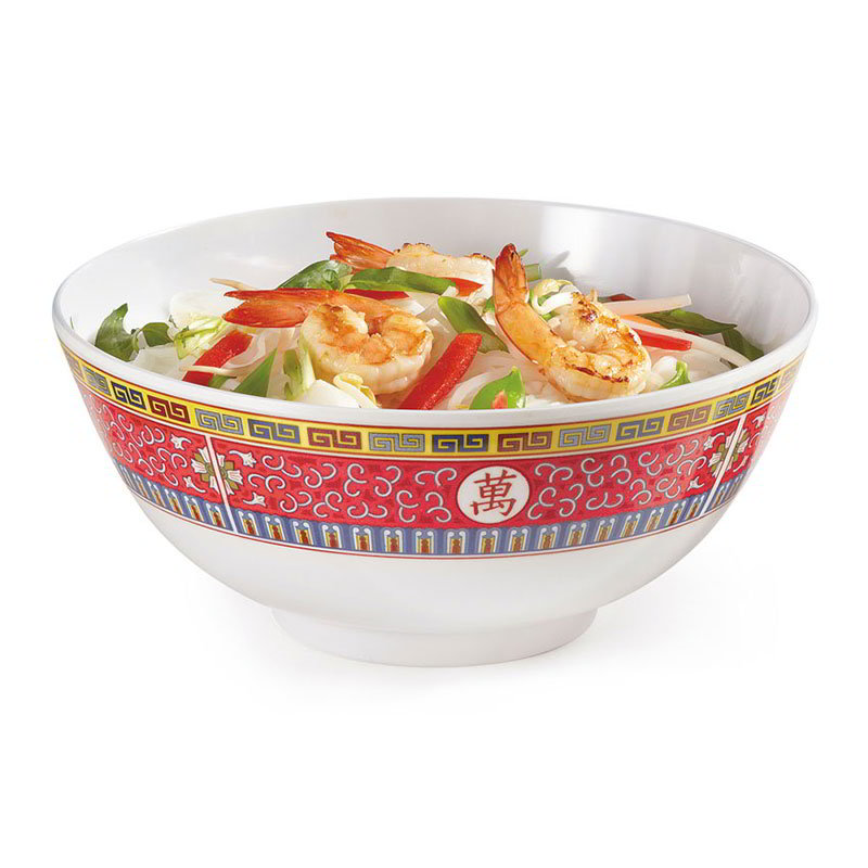 GET M-707-L 40-oz Bowl, Melamine, Dynasty Longevity