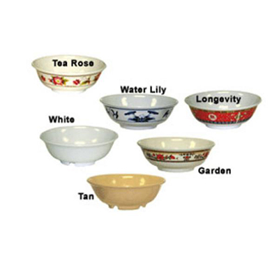 "GET M-810-W 2 4oz Bowl, 6-3/8"" Melamine, White, Supermel"