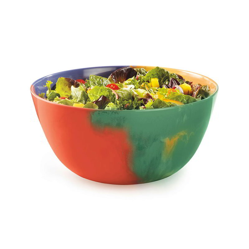 GET M-815-CE 5 qt Serving Bowl, 160-oz, Melamine, Celebration