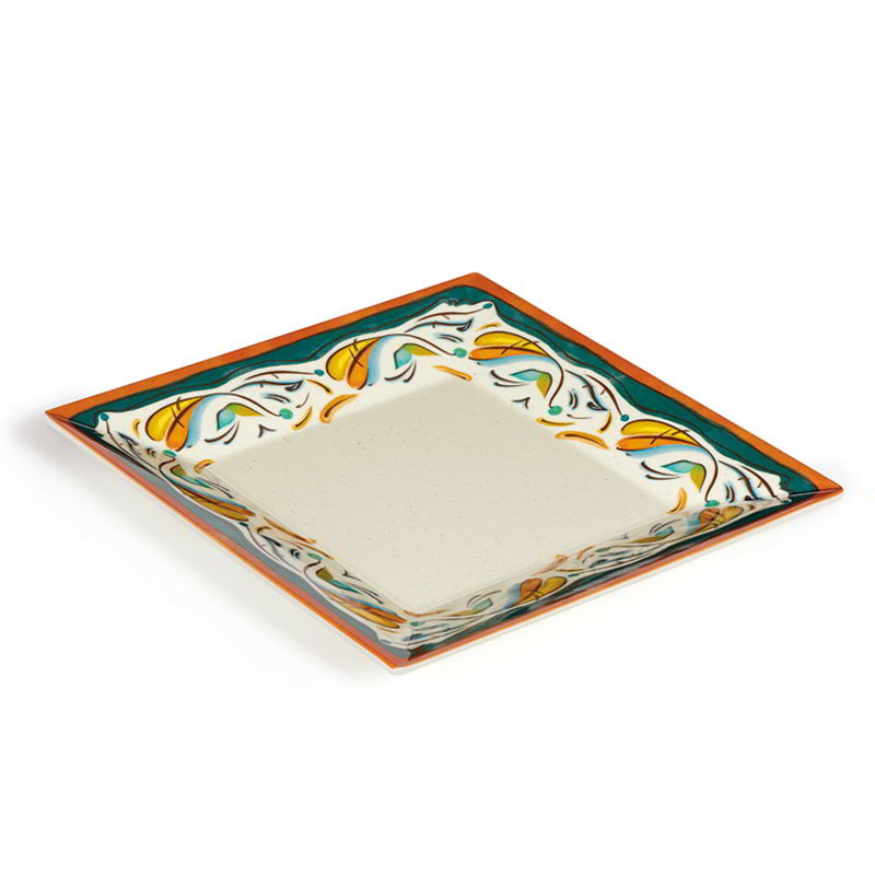 "GET ML-104-BF 10"" Bella Fresco Plate - Melamine"