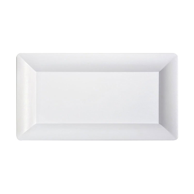 "GET ML-109-W 19""x 10-1/4""Tray, Melamine, White"